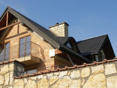 10 instalacja piorunochronna na dachu dwuspadowym